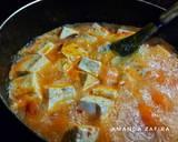 Sup tahu pakcoy pedas (sundubu jjigae versi Saya) langkah memasak 3 foto