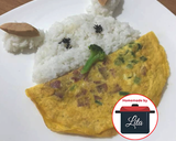 Telur dadar sapi sederhana mudah #homemadebylita langkah memasak 6 foto