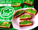 Topo Map Love Batter Cake langkah memasak 11 foto