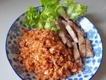 ข้าวผัดน้ำพริกไข่เค็ม กับไก่ย่าง พร้อมวิธีการทำแบบง่ายๆ