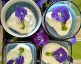 Creamy Blue Silky Puding (Bunga Telang) langkah memasak 6 foto