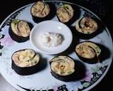 Omelet Gulung Nori langkah memasak 7 foto