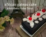 African Gateau #ketopad langkah memasak 17 foto