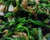 Tumis Kembang Sawi langkah memasak 2 foto