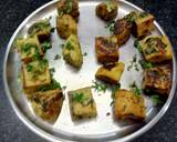 Tandoori Khaman (Khaman made in Microwave with a twist) recipe step 4 photo