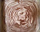 Bolu Kukus Zebra langkah memasak 7 foto