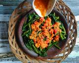Rujak Kangkung langkah memasak 2 foto