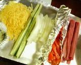 Seafood Ehomaki (Lucky Fat Sushi Rolls) recipe step 2 photo