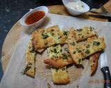 Keto Garlic Bread with almond flour نان سیر با آرد بادام recipe step 7 photo