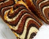 Bolu Macan/ Zebra Cake langkah memasak 10 foto