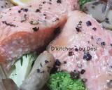 Baked Salmon langkah memasak 8 foto