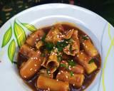 Tteokbokki with homemade Gochujang langkah memasak 5 foto