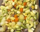 Zupa krem z pieczonych warzyw🌱 krok przepisu 2 zdjęcie