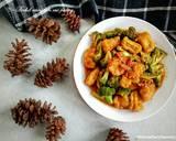Brokoli udang tahu saus padang langkah memasak 4 foto