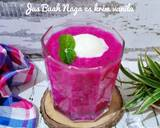 Jus Buah Naga dan Es Cream Vanilla langkah memasak 2 foto