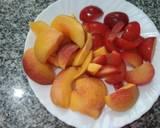 Peach and plum frozen yogurt recipe step 2 photo