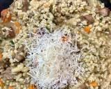 Pęczotto z indykiem i suszonymi grzybami krok przepisu 6 zdjęcie