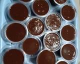 Silky Puding Cokelat langkah memasak 3 foto