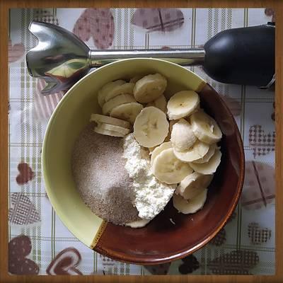 🌯Лаваш с начинкой: творог, банан, клубника🍚🍌 🍓на десерт