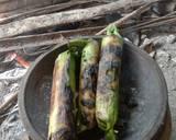 Nasi bakar isi ikan tongkol langkah memasak 5 foto