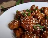 Dakgangjeong (Ayam Goreng Krispi Saus Madu ala Korea)#kamismanis langkah memasak 9 foto