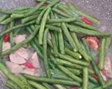 Tumis kacang panjang bumbu simpel langkah memasak 3 foto