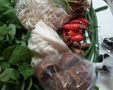 Pecel sayuran langkah memasak 1 foto