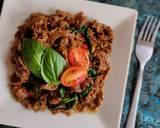 Beef Basil langkah memasak 5 foto