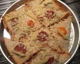 Veggy Pizza Pocket langkah memasak 12 foto