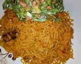 Indomie with salad recipe step 3 photo