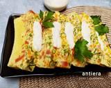 Telur Dadar Kukus kuah Areh Santan langkah memasak 6 foto
