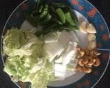 Cabbage bean vege recipe step 1 photo