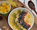 Go Mango Smoothie Bowl langkah memasak 4 foto