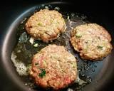 Low carb Pancake Burger #ketopad langkah memasak 4 foto