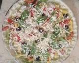 Spinach Hummus Thin Crust Pizza with Hummus Salad recipe step 24 photo