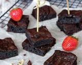 Brownies 2 Bahan (Gluten Free) langkah memasak 4 foto