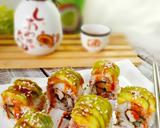 Teriyaki Chicken Sushi Roll langkah memasak 10 foto