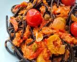 My Spaghetti Puttanesca recipe step 5 photo