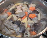 For the New Year's Feast: Standard Chikuzen-ni (Simmered Chicken and Vegetables) recipe step 8 photo