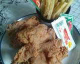 Fried Chicken Ala KFC #pekaninspirasi langkah memasak 8 foto