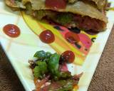 Pizza paratha recipe step 3 photo