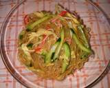 Simple Chinese Cellophane Noodle Salad recipe step 5 photo