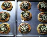Pizza Mini Bayam langkah memasak 7 foto