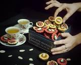 Kukis Cup toping selai Nanas dan Coklat dark #RabuBaru langkah memasak 7 foto