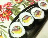 Seafood Ehomaki (Lucky Fat Sushi Rolls) recipe step 5 photo
