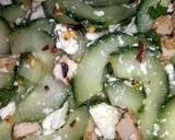 Sig's Goats cheese, tofu and cucumber salad recipe step 5 photo
