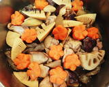 For the New Year's Feast: Standard Chikuzen-ni (Simmered Chicken and Vegetables) recipe step 9 photo