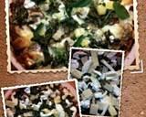 Sig/*ari* 4 Italian cheese ,garlic mushroom,sundried tomato and spinach pizza. recipe step 6 photo