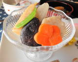 For the New Year's Feast: Standard Chikuzen-ni (Simmered Chicken and Vegetables) recipe step 14 photo