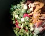 Okra tomatoes and rice recipe step 2 photo